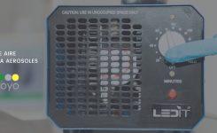 Purificador de aire con ozono: media clave frente al COVID-19